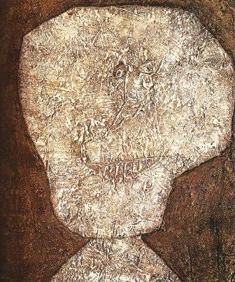 Jean Dubuffet - Il mago dal naso sottile (1951)