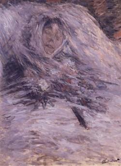 Claude Monet - Camille Monet sul letto di morte (1879)