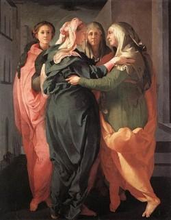 Jacopo Pontormo - Visitazione  (1530-1532)