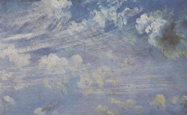John Constable - Studio di cirri