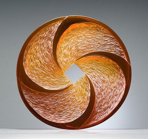 """Il cerchio della vita in """"Contemporary Art Glass Sculpture"""" di Ivana Houserová"""