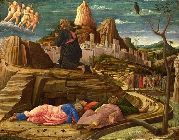 Orazione nell'orto - Mantegna