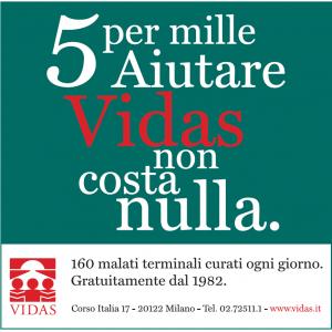 La campagna 5x1000 in giro per Milano