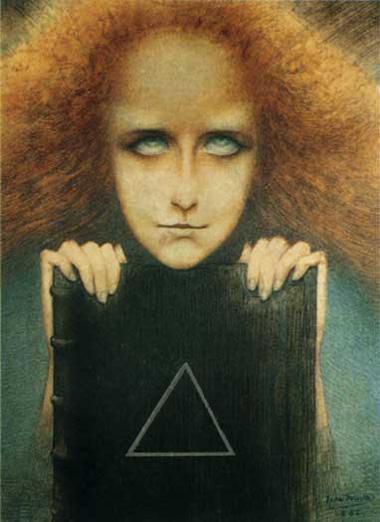 Madame Stuart Merrill (Mysteriosa) - Delville