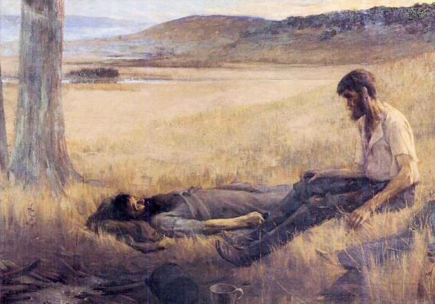 Death of Burke, Arthur Loureiro