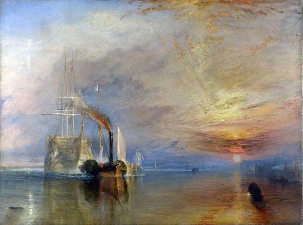 William Turner - La valorosa Téméraire
