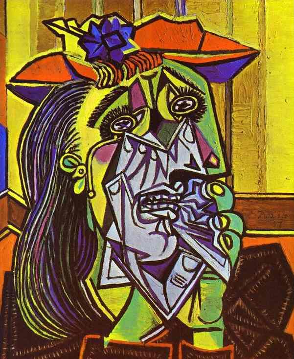 Pablo Picasso (1881-1973), Donna piangente (1935)