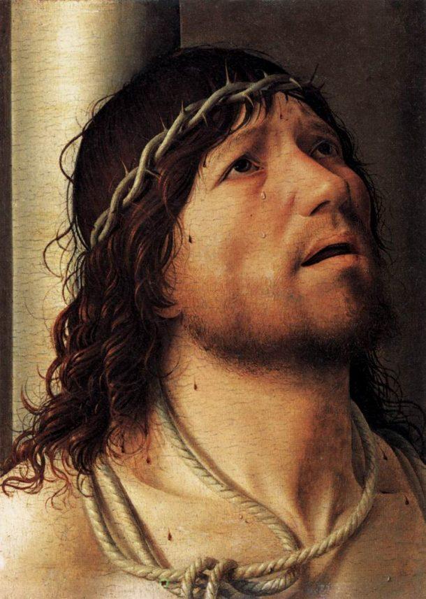 Antonello da Messina (1430-1479), Cristo alla colonna (1476)
