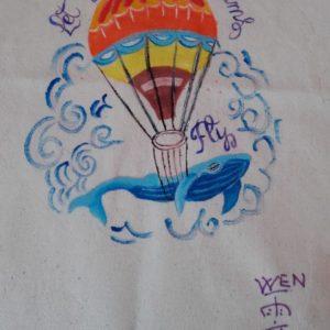 disegno mongolfiera