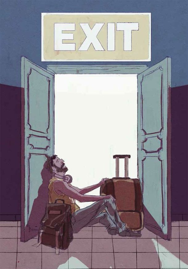 Exit graphic novel